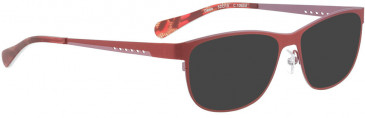 BELLINGER DAWN sunglasses in Matt Red