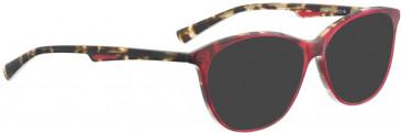 BELLINGER CLEAR sunglasses in Blue Pattern