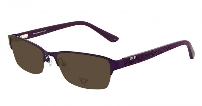 Anna Sui AS210 Sunglasses in Purple