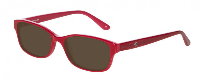 Anna Sui AS614 Sunglasses in Red
