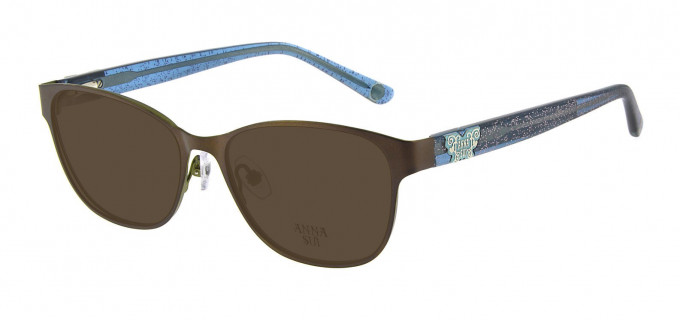Anna Sui AS213 Sunglasses in Brown