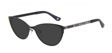 Anna Sui AS214A Sunglasses in Black