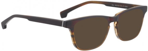 ENTOURAGE OF 7 ALLY sunglasses in Matt Red Turquoise