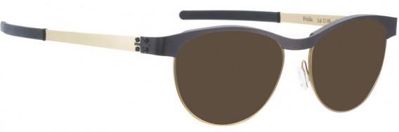 BLAC BATH-FRIDA-BUR-GO sunglasses in Burgundy