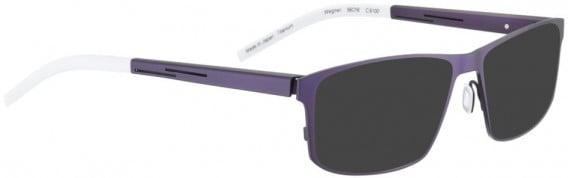 BELLINGER WEGNER sunglasses in Lavender