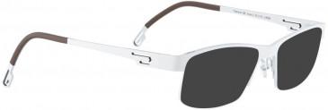 BELLINGER VOSS-2 sunglasses in White