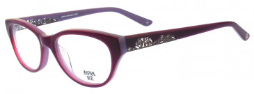 Anna Sui AS196 Glasses in Grey Horn