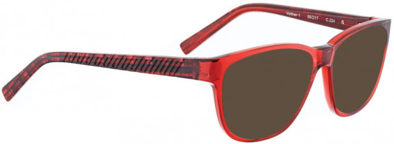 BELLINGER VOLTHER-1 sunglasses in Red