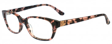 Anna Sui AS564 Glasses in Pink/Tortoise