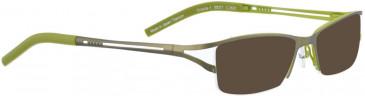BELLINGER URSULA-1 sunglasses in Green/Light Green