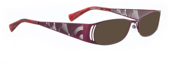BELLINGER TRIUMPH sunglasses in Light Purple
