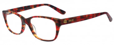 Anna Sui AS567 Glasses in Red/Tortoise