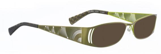BELLINGER TRIUMPH sunglasses in Green