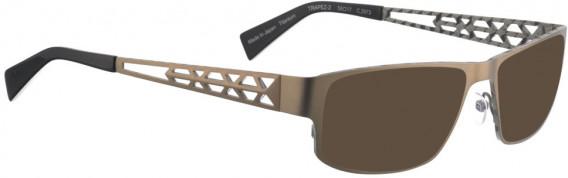 BELLINGER TRAPEZ-2 sunglasses in Brown