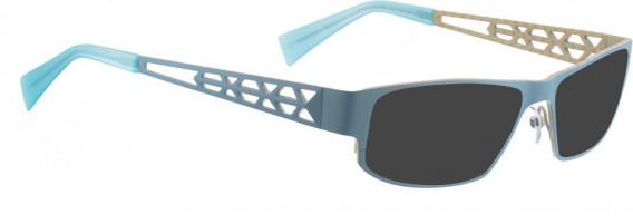 BELLINGER TRAPEZ-1 sunglasses in Light Blue