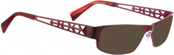 BELLINGER TRAPEZ-1 sunglasses in Shiny Red