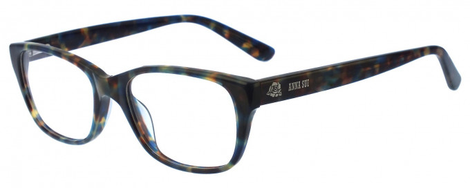 Anna Sui AS567 Glasses in Blue/Tortoise
