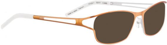BELLINGER TITUS-1 sunglasses in Metal Orange