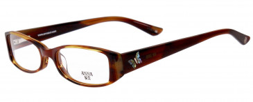 Anna Sui AS569 Glasses in Red