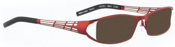BELLINGER TECHNA-1 sunglasses in Copper