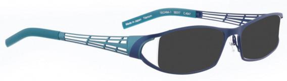 BELLINGER TECHNA-1 sunglasses in Blue