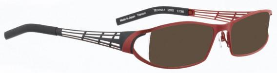 BELLINGER TECHNA-1 sunglasses in Matt Red