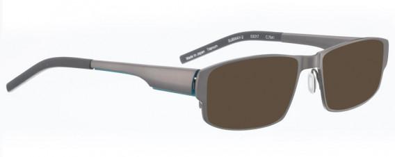 BELLINGER SUBWAY-2 sunglasses in Shiny Grey