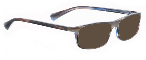 BELLINGER STING sunglasses in Matt Grey/Blue Pattern
