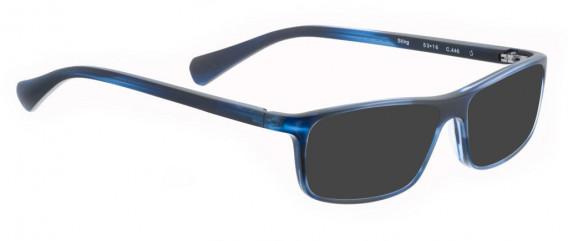 BELLINGER STING sunglasses in Matt Blue Pattern