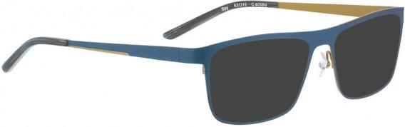BELLINGER SPY sunglasses in Matt Blue