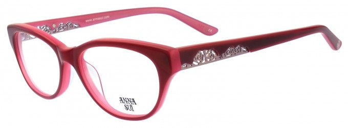 Anna Sui AS570 Glasses in Red/Pink