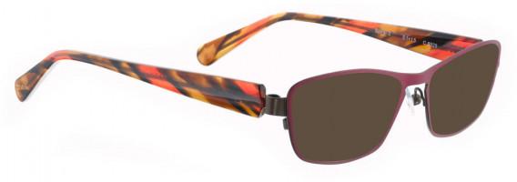 BELLINGER SPIRAL-3 sunglasses in Wine Aubergine