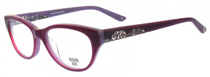 Anna Sui AS570 Glasses in Brown/Light Brown