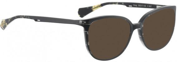 BELLINGER SNUG sunglasses in Black Pattern