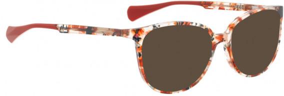 BELLINGER SNUG sunglasses in Red Pattern