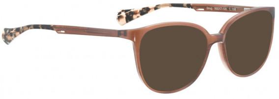 BELLINGER SNUG sunglasses in Pink Pattern