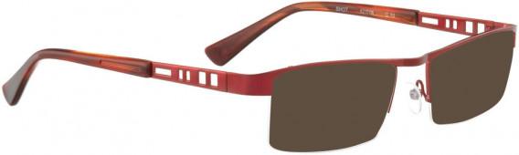 BELLINGER SHOT sunglasses in Shiny Red