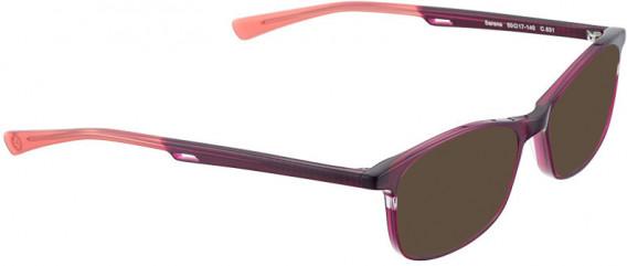 BELLINGER SERENE sunglasses in Aubergine