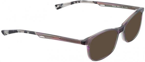 BELLINGER SERENE sunglasses in Green/Purple
