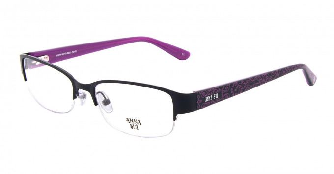 Anna Sui AS202 Glasses in Black
