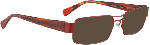 BELLINGER SCIENCE sunglasses in Shiny Red