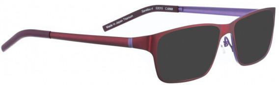 BELLINGER SANDLAU-4 sunglasses in Burgundy
