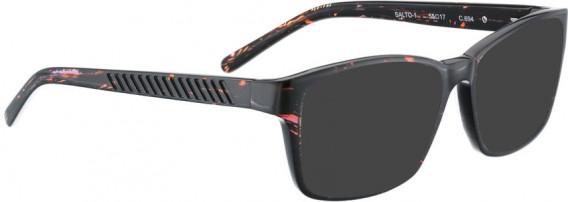 BELLINGER SALTO-1 sunglasses in Aubergine