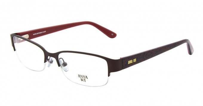 Anna Sui AS202 Glasses in Brown