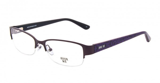 Anna Sui AS202 Glasses in Purple