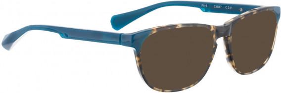 BELLINGER PIT-6 sunglasses in Brown Pattern/Blue