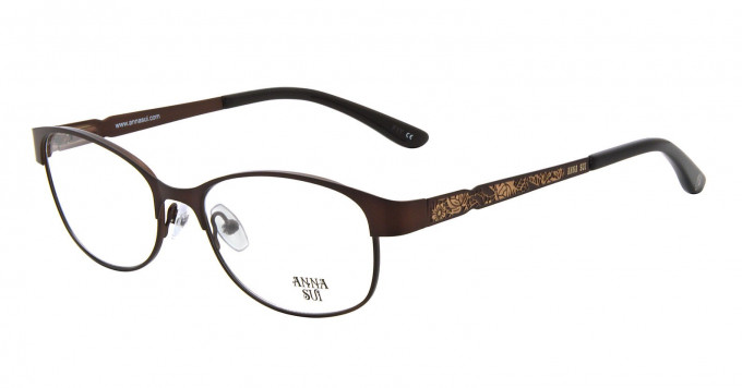 Anna Sui AS203 Glasses in Brown