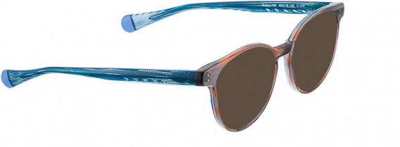 BELLINGER PATROL-100 sunglasses in Brown Transparent