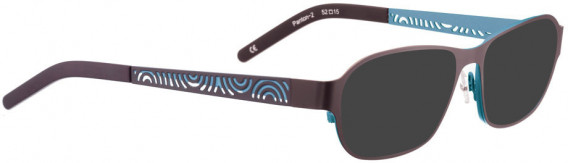 BELLINGER PANTON-2 sunglasses in Aubergine