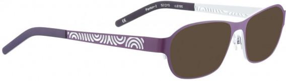 BELLINGER PANTON-2 sunglasses in Lavender
